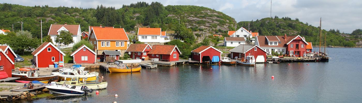 vest agder norwegen hafen ferienhaus