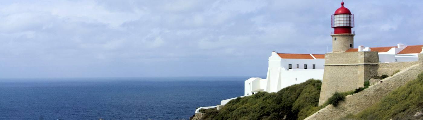 vila do bispo algarve portugal leuchtturm
