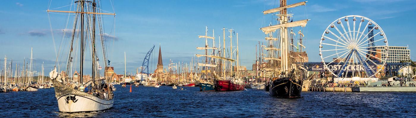 hanse sail rostock ostsee ferienwohnung