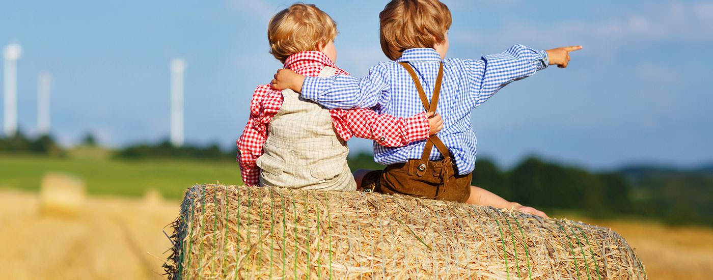 Ferienwohnung auf dem Bauernhof finden.