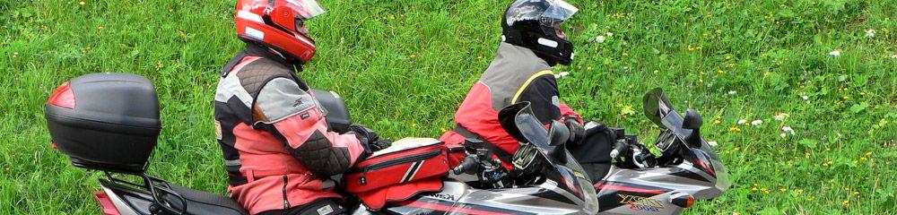 motorrad urlaub