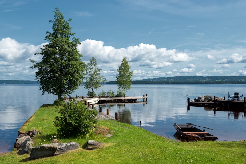 Ferienhaus ferienwohnung in mittelschweden urlaub in for Urlaub haus am see