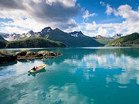norwegen berge angeln