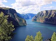 sogn und fjordane sognefjord aurlandsfjord