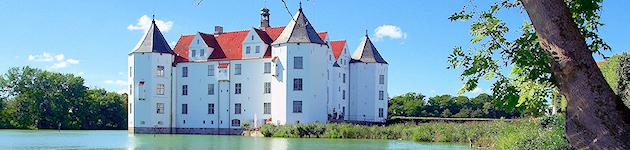 Wasserschloss Gl�cksburg (Ostsee)