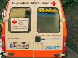Notfall-Krankenwagen