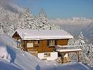 Chalet in den Winterbergen