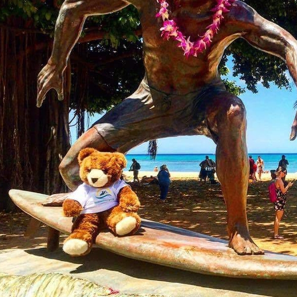 Der Urlaub�r auf Hawaii