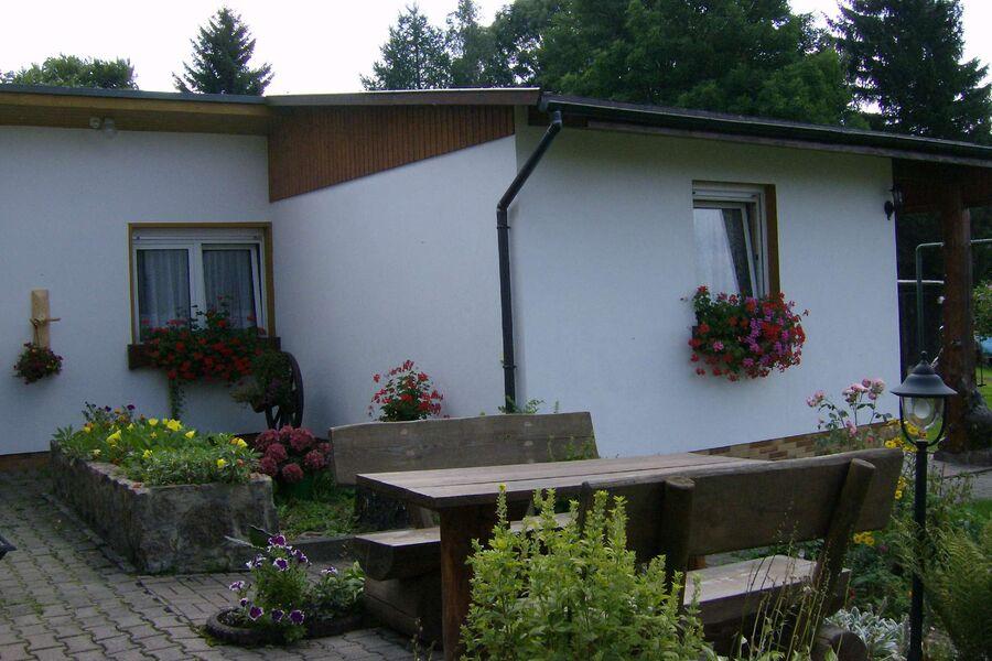 Außenansicht Ferienhaus Jägerhaus