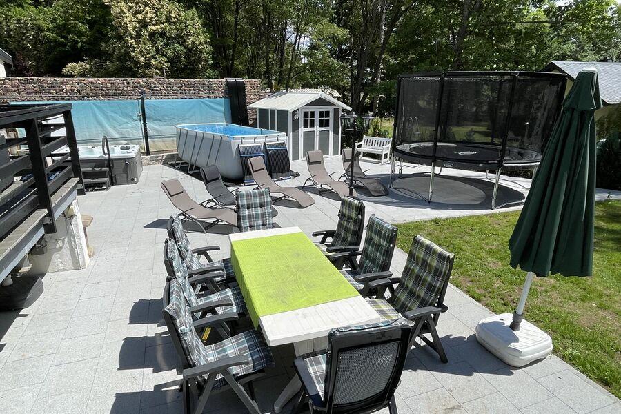 Trampolin mit 3,70m Durchmesser