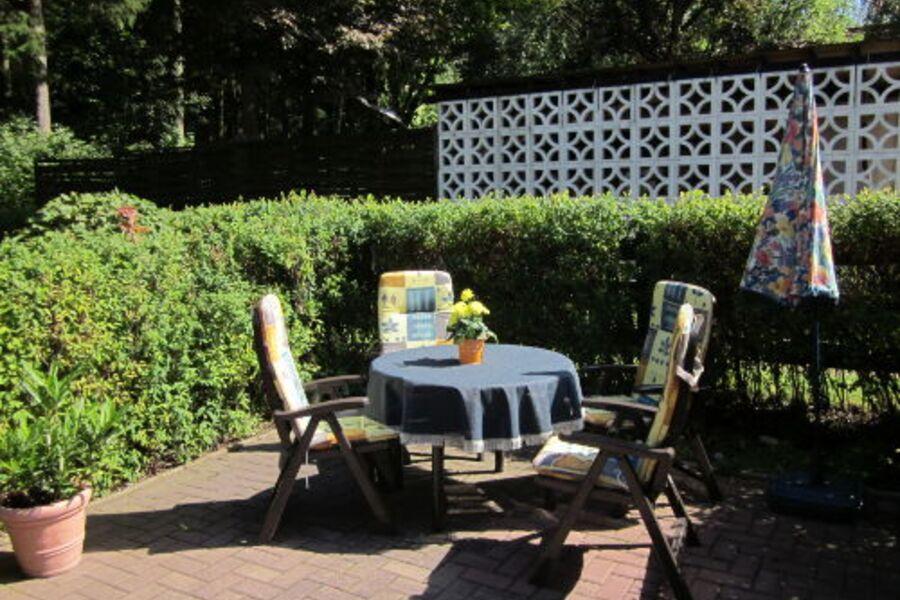 Sitzgelegenheit im Garten
