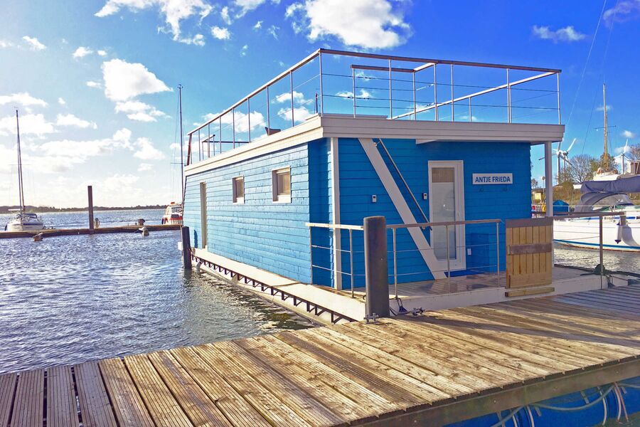 Ostsee Hausboot Antje Frieda auf Fehmarn
