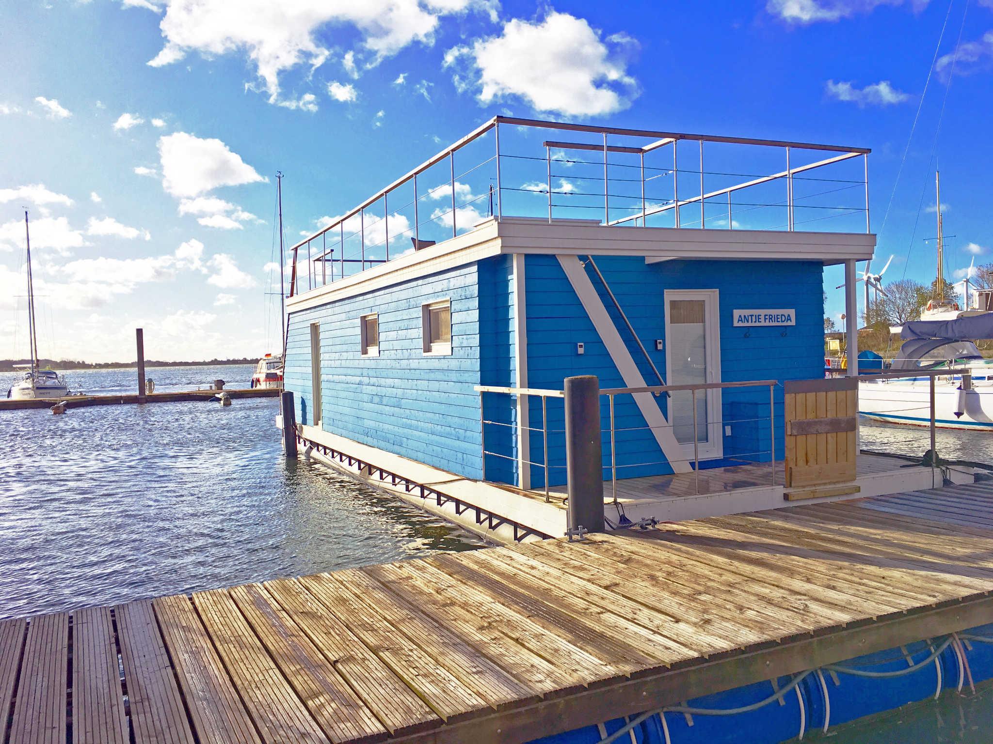 Fesselnde Außergewöhnliche Ferienhäuser Ideen Von Ostsee Boot Antje Frieda