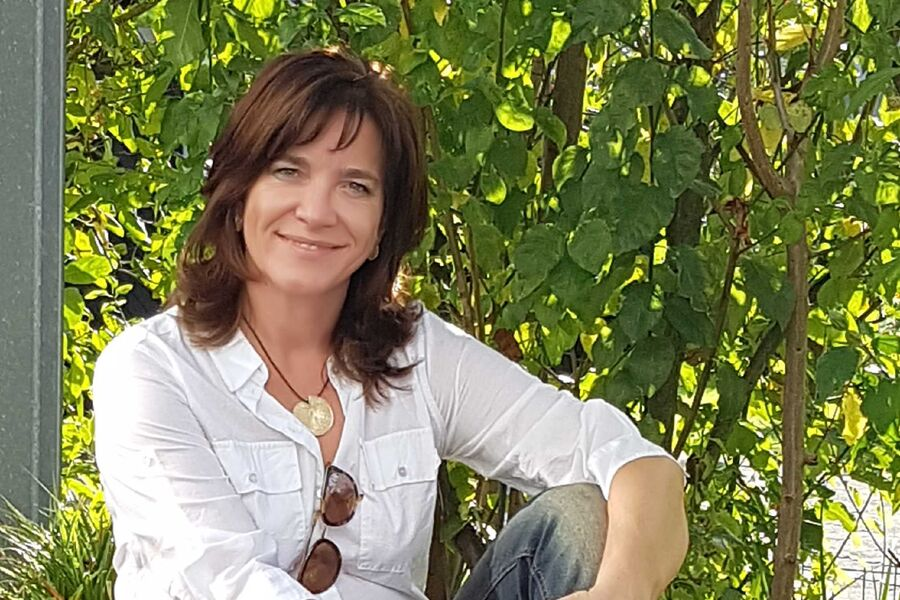 Ihre Gastgeberin Ulrike Horster