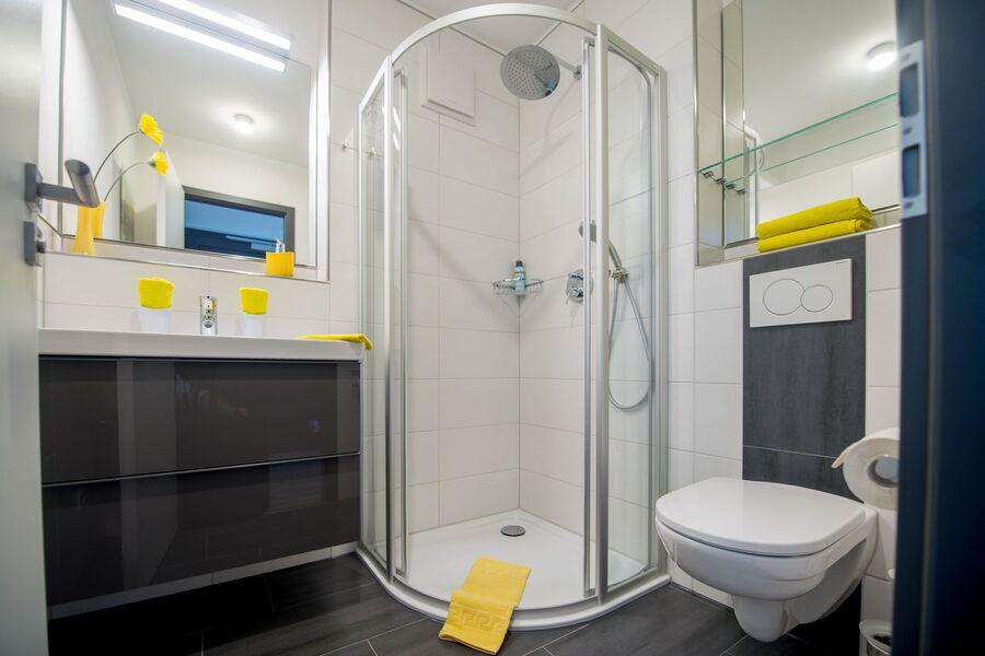 Luxus+Komfort mit Dusche oder Badewanne