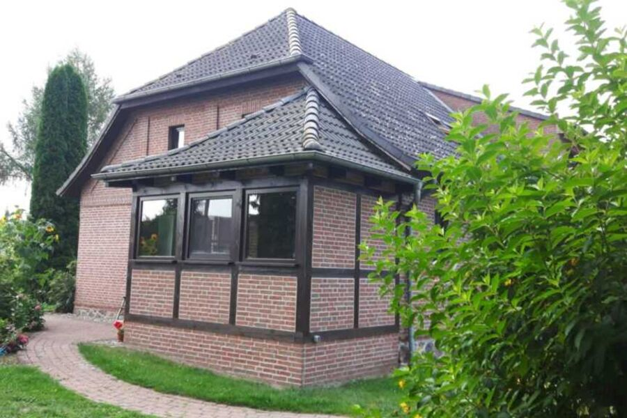 Ferienhaus - Rückseite
