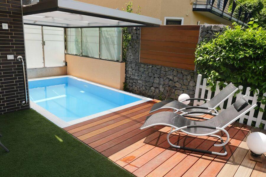 Außenpool Wohnung Garden