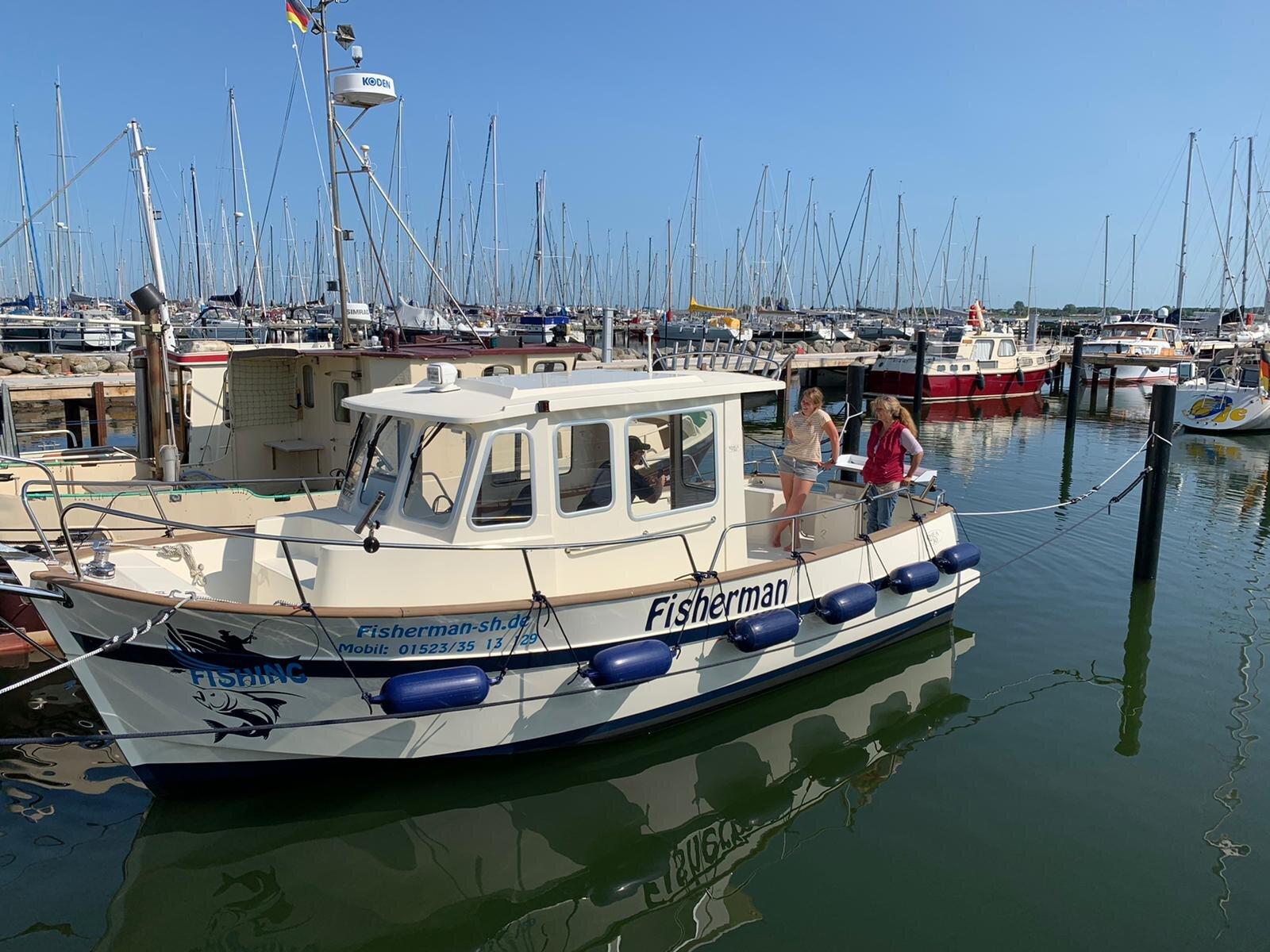 Unser Motorboot BigFish 535 mit 45 PS