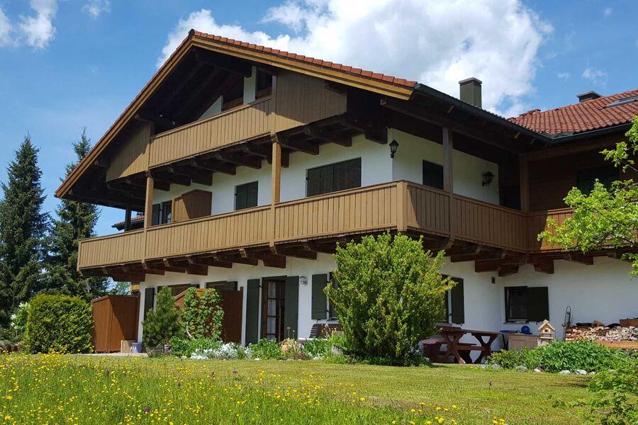 Südansicht des Ferienhauses