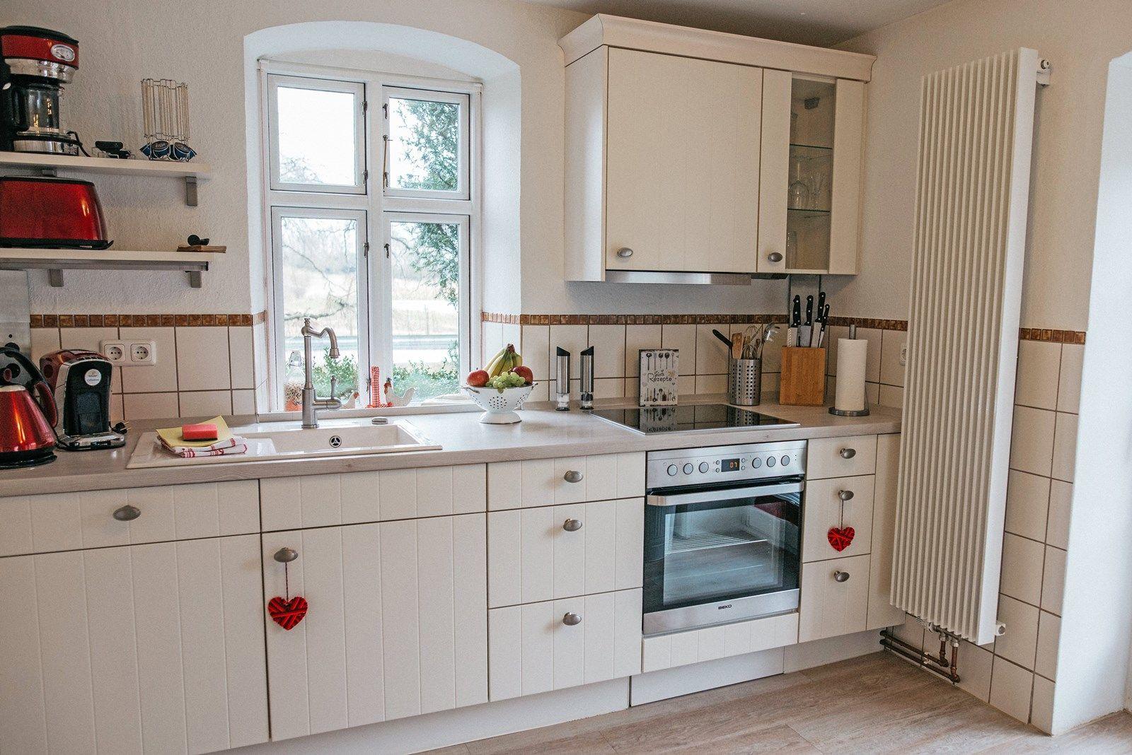 Die moderne, maßgeschneiderte Küche