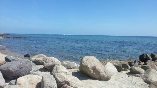 Der Strand... nur 2min vom Haus entfernt