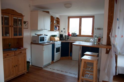 Küche mit Tresen