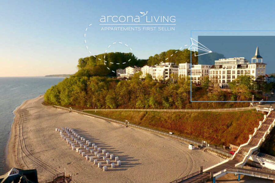 Außenansicht arcona LIVING APPARTEMENTS FIRST SELL