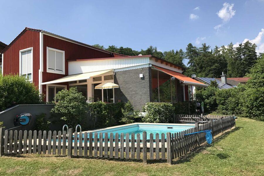 Außenansicht Ferienhaus Juhöhe