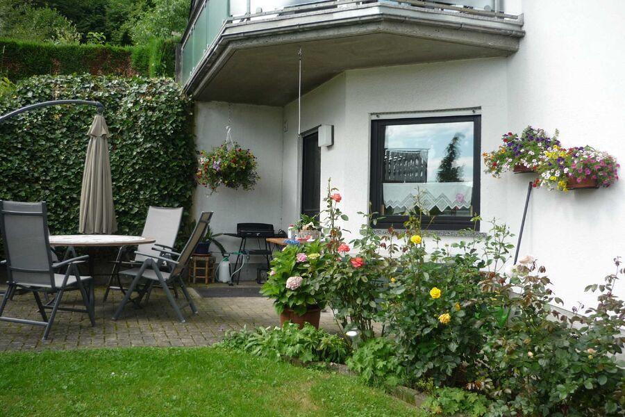 Terrasse direkter Zugang von der Küche