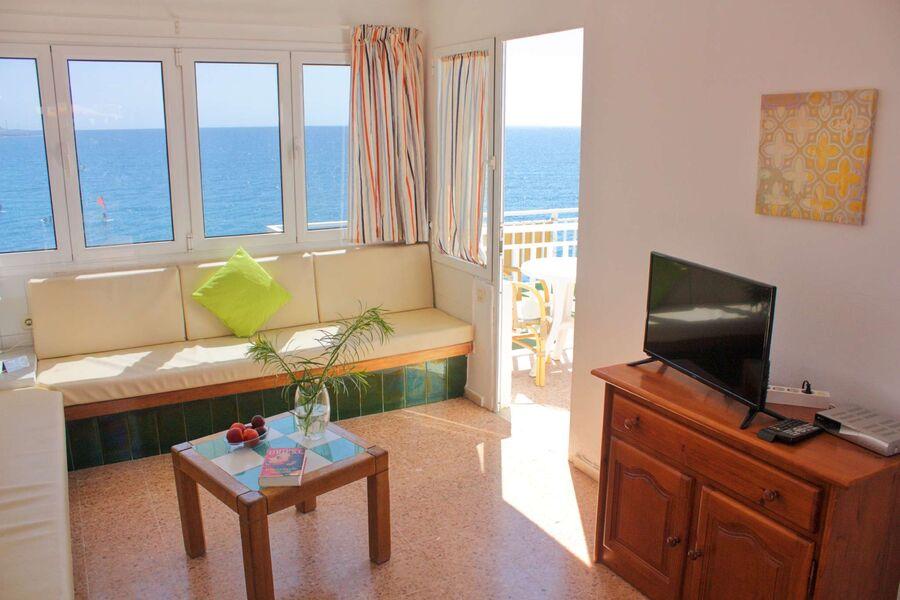 Wohnraum mit Blick auf das Meer