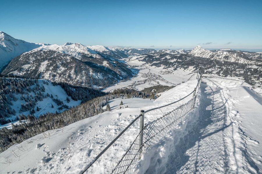 Winterwanderungen im Tannheimer Tal