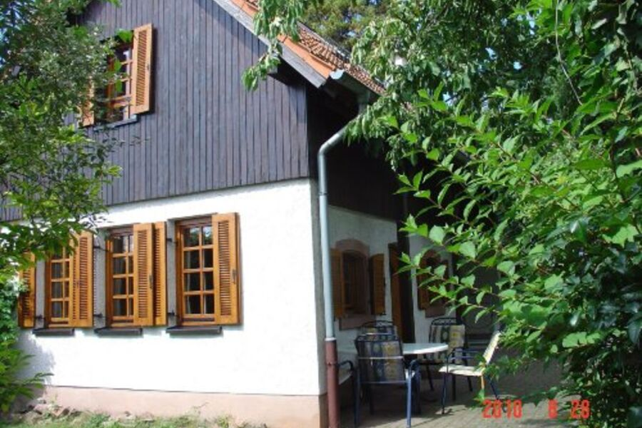 Ansicht Zugang Ferienhaus