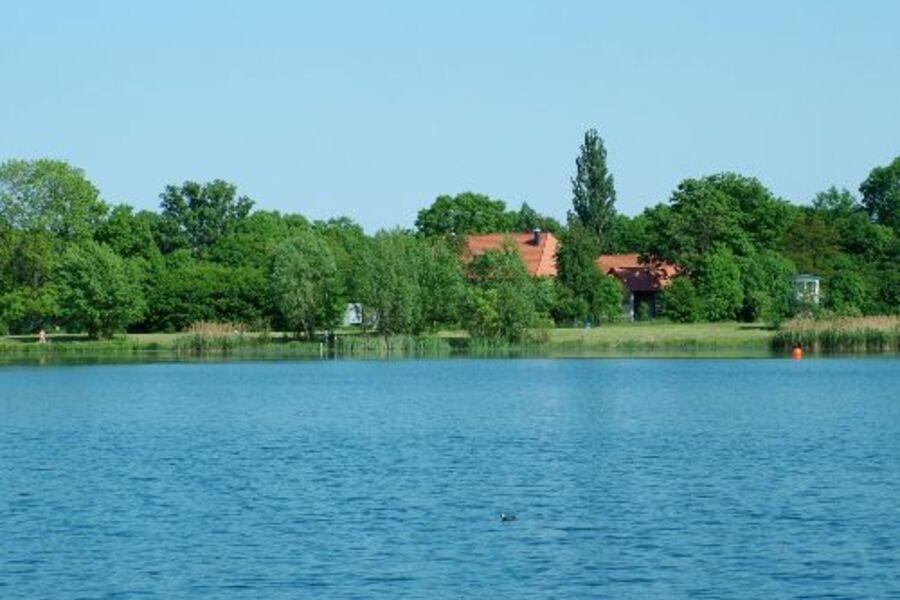 Geistmühle am See