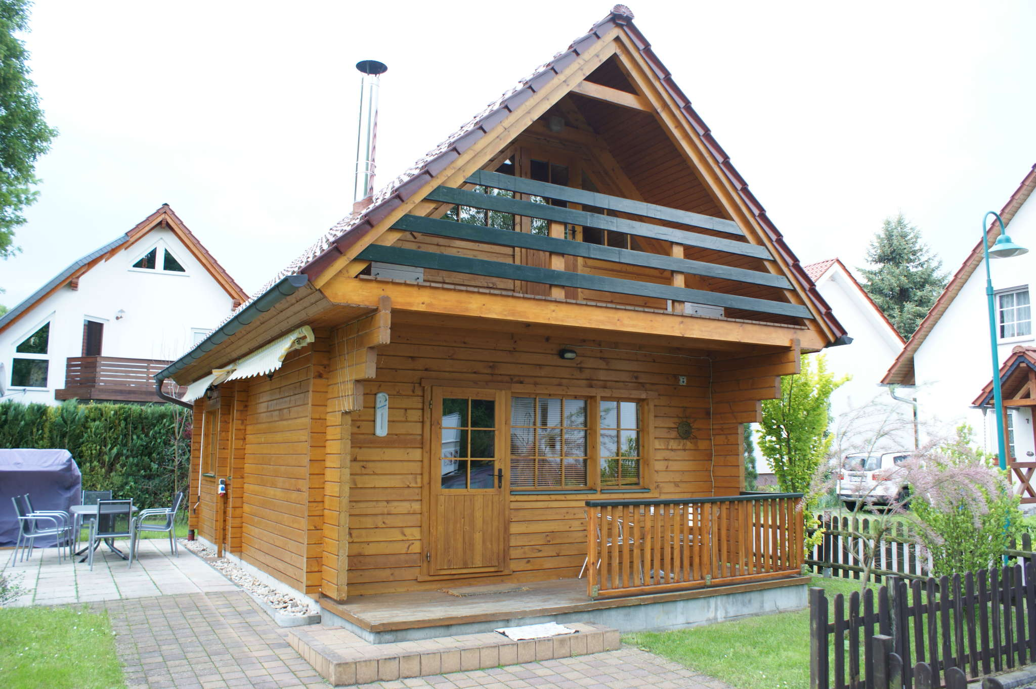 Ferienhaus Blockhaus am Lindenhof in Ammern Thüringen (Michael ...