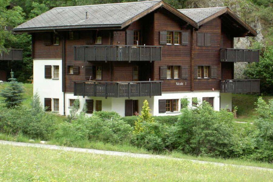 Nicole I (Felder) - Blatten, 3 1-2 Zimmerwohnung m