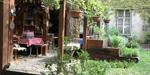Ferienwohnungen Mühlpark, Apartment 88m² mit Gartenblick in Wien - kleines Detailbild