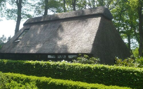 Ferienhaus unter Reetdach