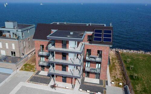 Komfort-Ferienwohnung Waterkant, WG 08 - Wohnung mit direktem Meerblick