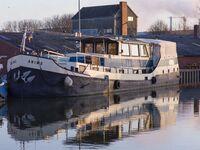Historisches Schiff im romantischen Hafen in Weener - kleines Detailbild