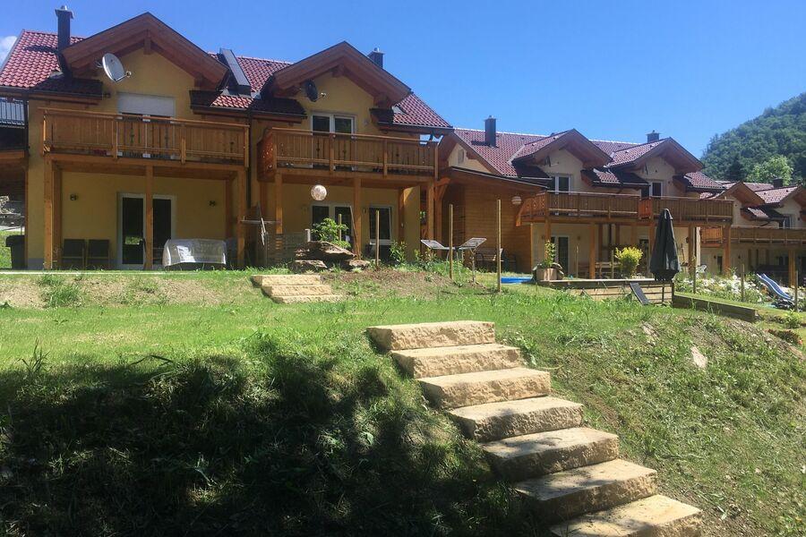 Villa Sonnenglück Gartenseite