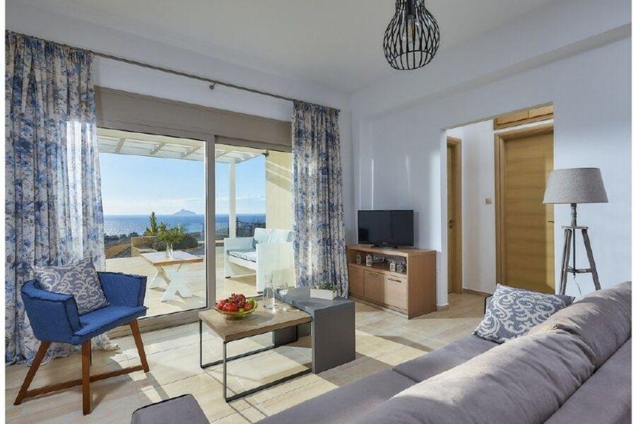 Elkysti Crete - Das Luxuriöse Wohnzimmer