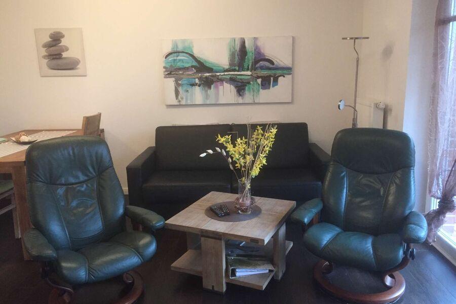 Wohnbereich mit 2 Stressless Sesseln
