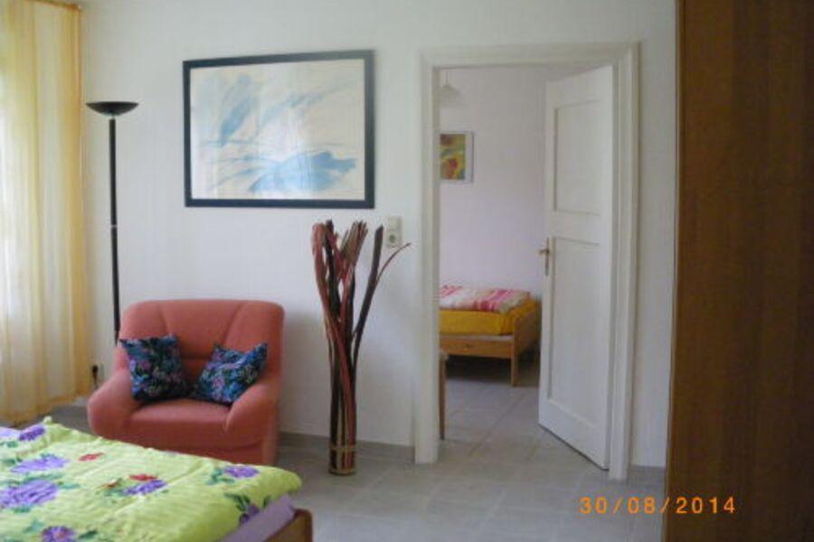 Wohnung Nr. 2, Schlafzimmer