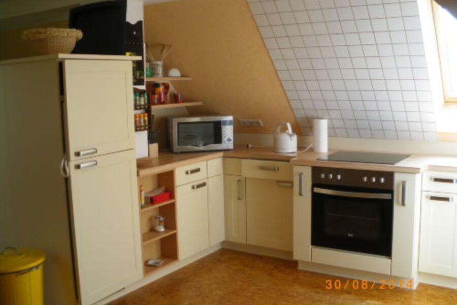 Küche der Wohnung Nr. 4 Dachgeschoss