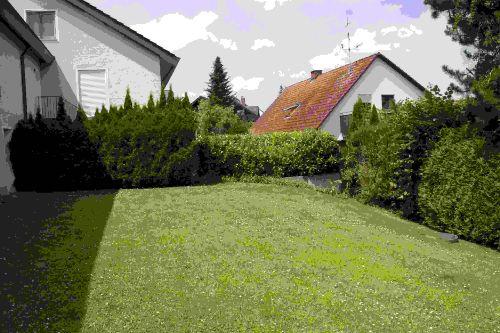Gartenbereich der Hausgemeinschaft