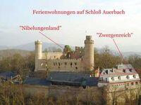 Schloss Auerbach FeWo Zwergenreich max. 4.Personen, Schloss Auerbach Ferienwohnung Zwergenreich in Bensheim-Auerbach - kleines Detailbild