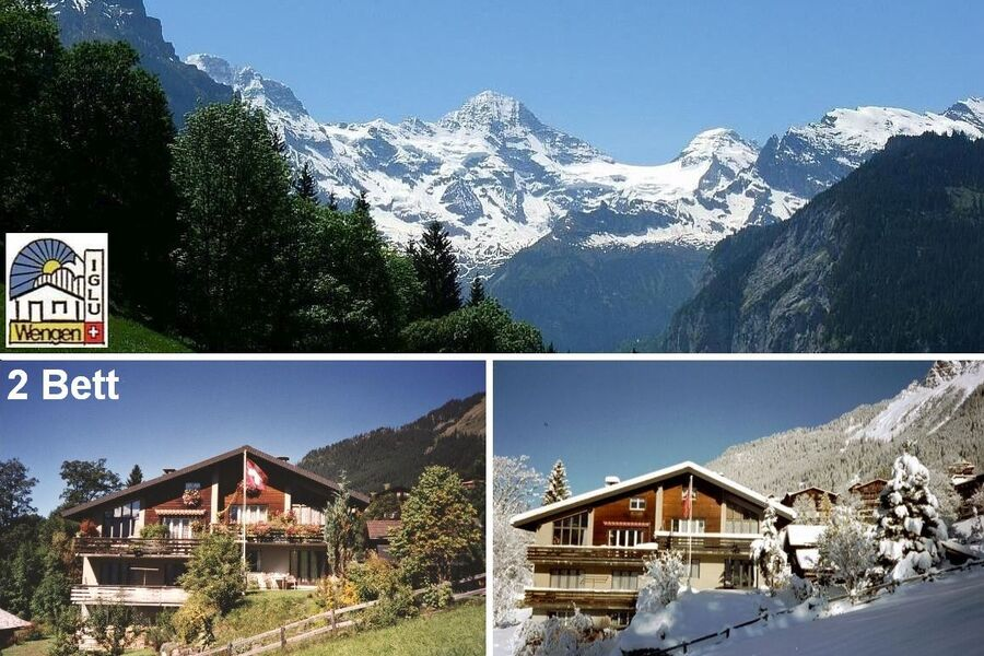 Chalet Iglu - Sommer - Winter - Aussicht