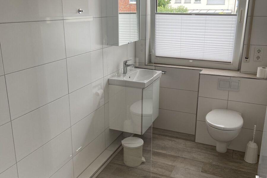 Badezimmer der 1. Fewo