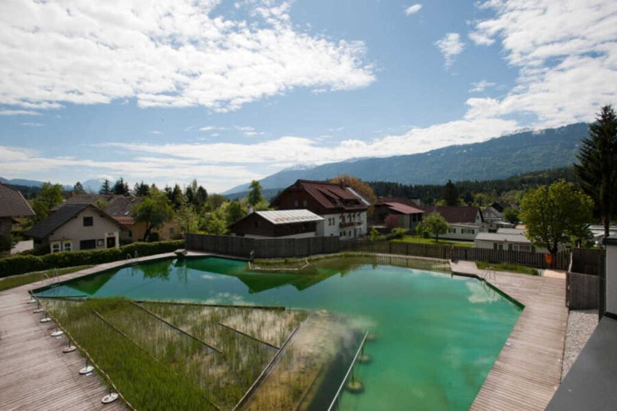Schluga Spa Apartments & Mobile Homes, Schlaf-Fass