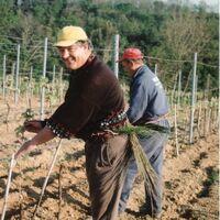 Vermieter: Wirt Loreano im Weinberg